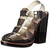 Steve Madden x Iggy Azalea Women's Hi Top Huarache Sandal, Black, 7 M US