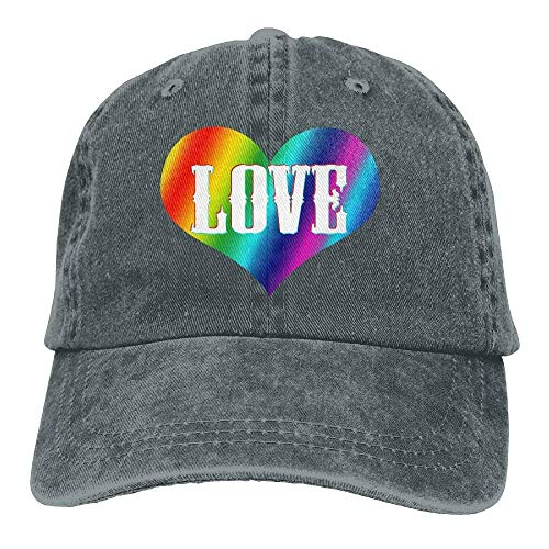 Hats Hat Cowboy Rainbow Denim for Men Love Cowgirl Skull Cap Sport Women pq8p6n1wr