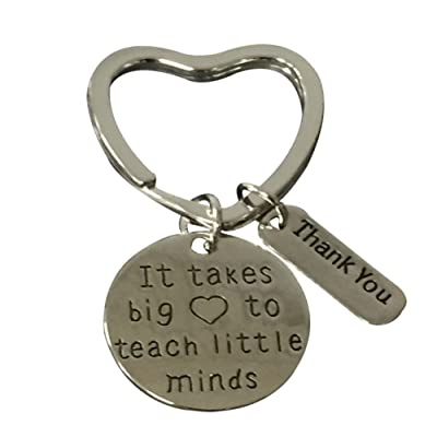 Infinity collection teacher key chain