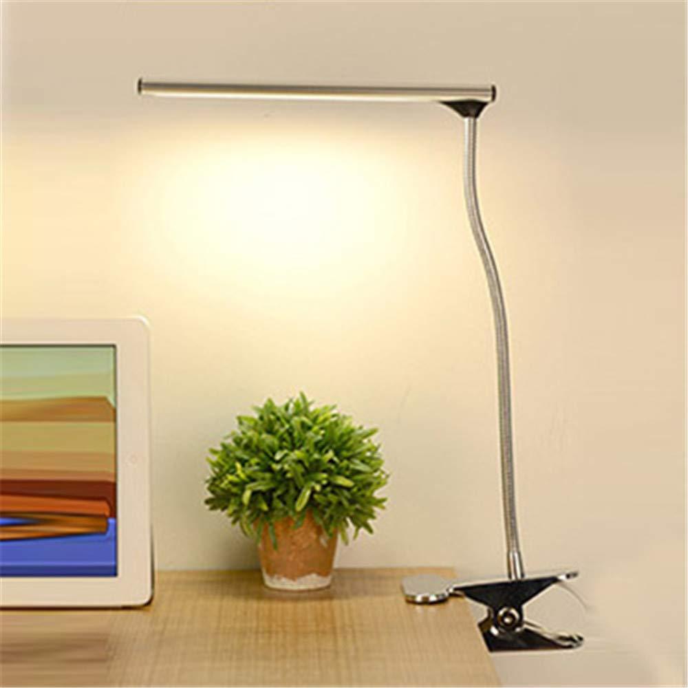 Lámpara De Escritorio Usb Clip Ajustable Led Lámpara De Mesa Led 3 ...