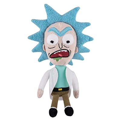 Funko Rick And Morty Galactic Plushies Rick Angry Plush Figure: Toys & Games
