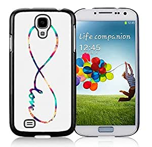 Fashion Samsung Galaxy S4 Case Infinity Love Galaxy Designs Durable Soft Rubber Silicone Black Phone Cover Protector