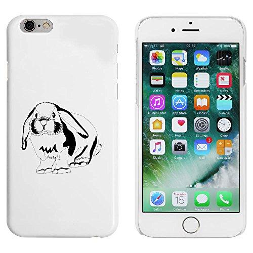 Blanc 'Lapin Mignon' étui / housse pour iPhone 6 & 6s (MC00089869)