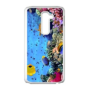 Colorful Unersea World Phone Case for LG G2