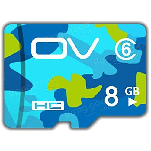 (Generic OV Camouflage Version Class 6 8GB Memory Card TF Card for Cell Phone)