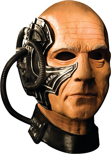Star Trek Halloween Mask (Locutus Mask Costume)