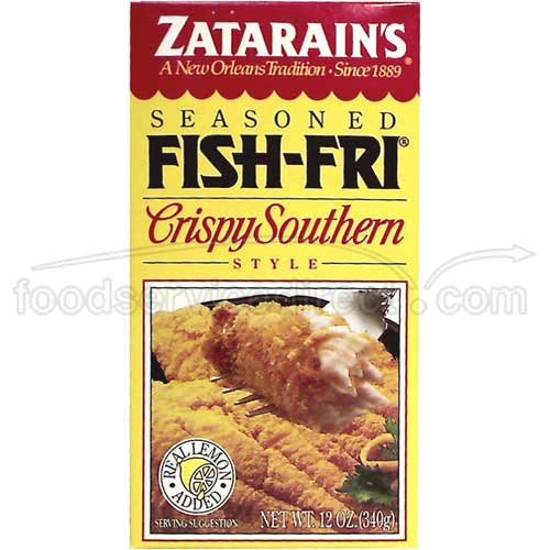 Crispy Seasoned Fish, 12.0 Oz - 12 Per Case.