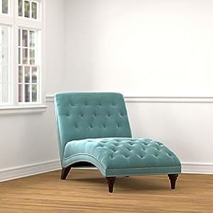 Amazon.com: Handy Living Palermo Turquoise Blue Velvet