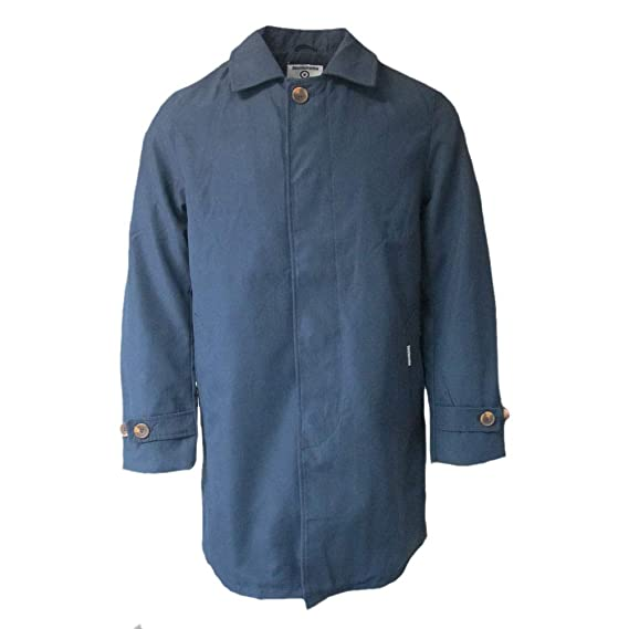 new buy popular hot-selling fashion Lambretta Mens Button Up Casual Mac