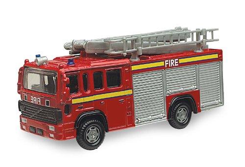 Diecast Model Fire Engine - British Street Scenes 12cm Richmond Toys Volvo Fire Engine Die-Cast Model