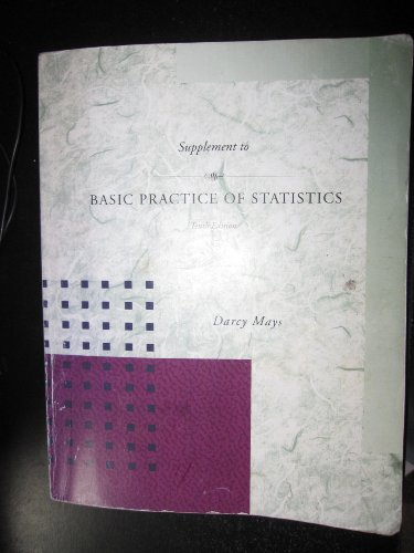 Supplement to Basic Practice of Statistics, Tenth Edition