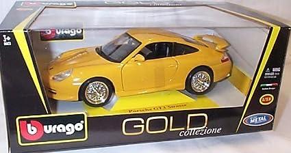 Bburago gold porsche gt3 strasse
