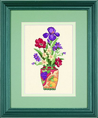 - Dimensions Crewel Embroidery Kit Elegant Floral