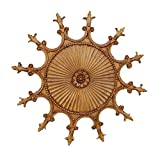 Hickory Manor House Scalloped Ceiling Medallion/Baroque