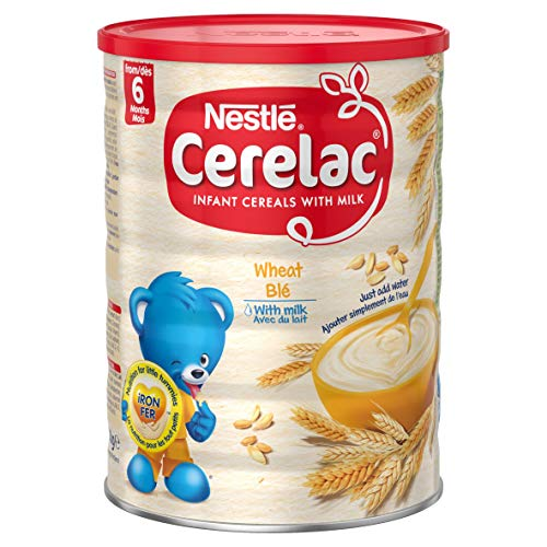 Nestle Cerelac Wheat Infant Cereal with Milk, 6 months+,  1 kg