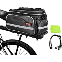 Arltb Bike Rear Bag (3 Colors) 15-25L Waterproof Bicycle...