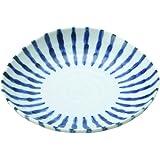 (アウトレット込み)染付け ダミ十草 三角5寸皿