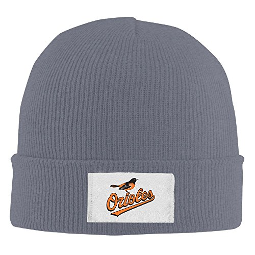 XTREME Beanie Hat-Orioles Bird For Unisex (Baltimore Orioles Fiber)