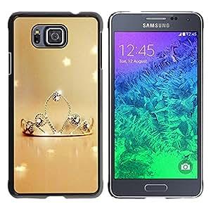 Be Good Phone Accessory // Dura Cáscara cubierta Protectora Caso Carcasa Funda de Protección para Samsung GALAXY ALPHA G850 // Nature Princess