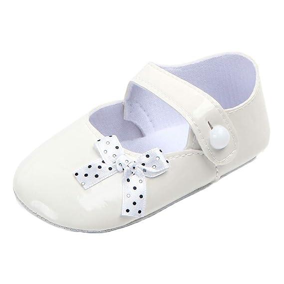 Zapatos Bebe Niña Bautizo de 0-18 Meses, ❤ Zolimx Bebe Niñas Zapatos