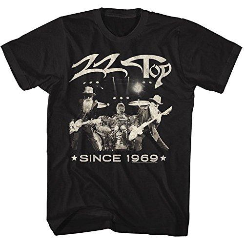ZZ Top Mens Since 1969 T-Shirt Black