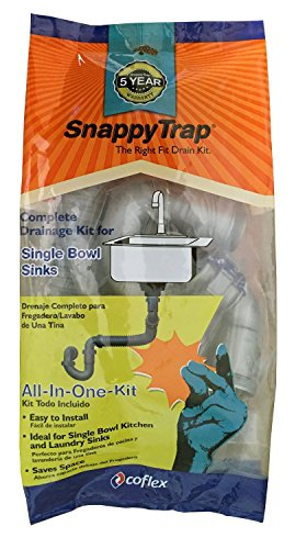 Snappy Trap 1 1 2 Quot Drain Kit For Single Kitchen Sinks Bar Sinks And Laundry Sinks Buy Online In Uae Hi Products In The Uae See Prices