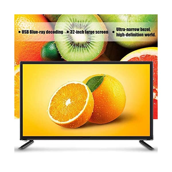 43-Inch HD HDR LCD TV, 1080P Digital Television, Voice Searching Function, Supports USB/HDMI/RF Antenna Input/Headphone… 4