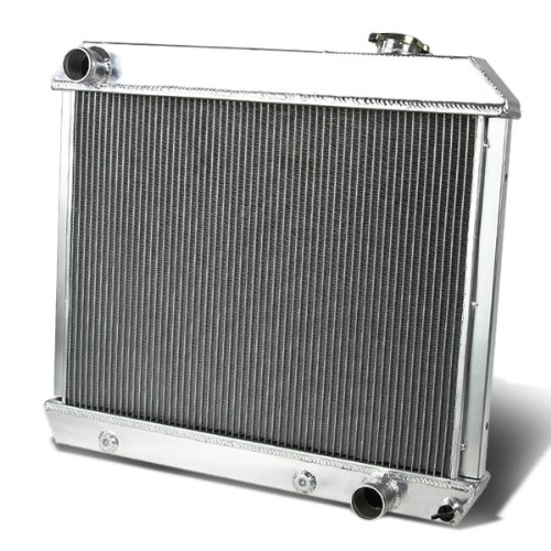 1964 Chevy - DNA Motoring RA-CHEVYT63-3 Aluminum Racing Radiator