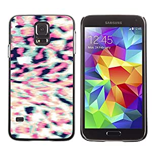 LECELL--Funda protectora / Cubierta / Piel For Samsung Galaxy S5 SM-G900 -- Fur Pattern 3D Stereoscopic --