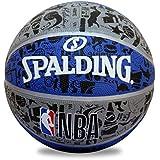 Spalding GRAFFITE NBA Basketball (Blue-Grey)