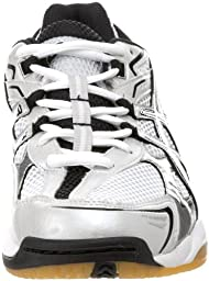 ASICS Men\'s GEL-Volleycross 3 B100N.0190 Volleyball Shoe,White/Black/Silver,8.5 M US