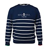 Cova SINACOVA Men's Sweater Navy Large