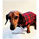 Miniature Dachshund Small Dogs Coat Dachshund Gifts Dachshund Sweater Dachshund Pajamas Dachshund Clothes Pet Accessories Dachshund Costume