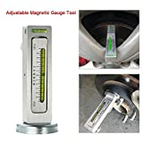 FidgetFidget Auto Car Camber Castor Strut Wheel Alignment Adjustable Magnetic Gauge Tool X8C5