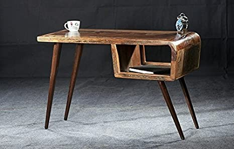 Scrivania Ufficio Legno Massello : Legno antico mobili in legno massello vintage laccato scrivania in