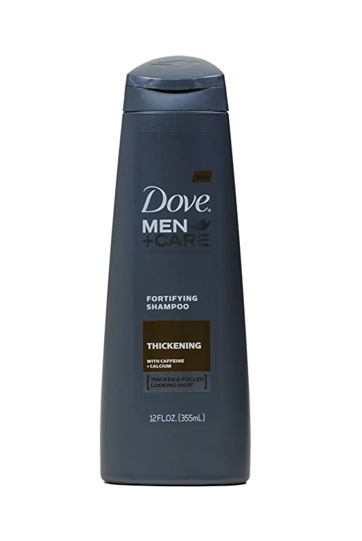 Dove Men+Care 2 in 1 Shampoo and Conditioner, Thick and Strong 12 Ounce