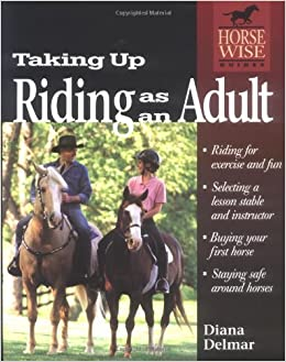 Are Adult horse lesson riding think