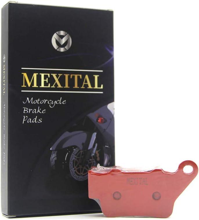 MEXITAL Pastiglie freno Ceramica organico Anteriori per NX 500 NX 650 Dominator 97-98 // CB 500 97-99 // FX 650 Vigor 99-03 // SRL 650 V//W 97-03