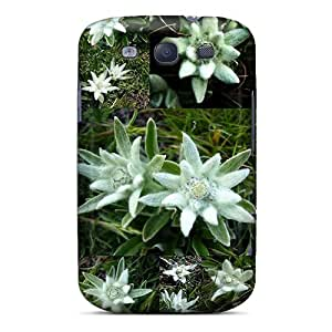 For Oml8410AUTD Dream Spring Edelweiss Of The Alps Protective Case Cover Skin/galaxy S3 Case Cover