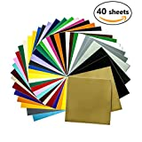 """Permanent Adhesive Backed Crafting Vinyl Sheets 12"""" x - Best Reviews Guide"""