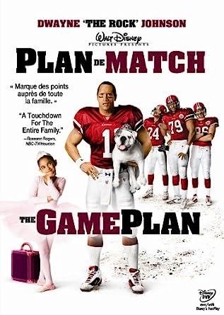 The Game Plan Version Francaise Widescreen Amazon Ca