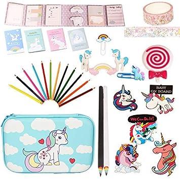 Amazon.com: Unicorn – Set de papelería para regalo, para ...