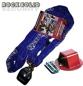 Kit Anclaje de seguridad sólida como una roca Cadena 180cm Solid Lock & Rock