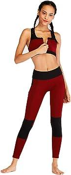Feixunfan Abbigliamento da Allenamento Tuta Sportiva Fitness da