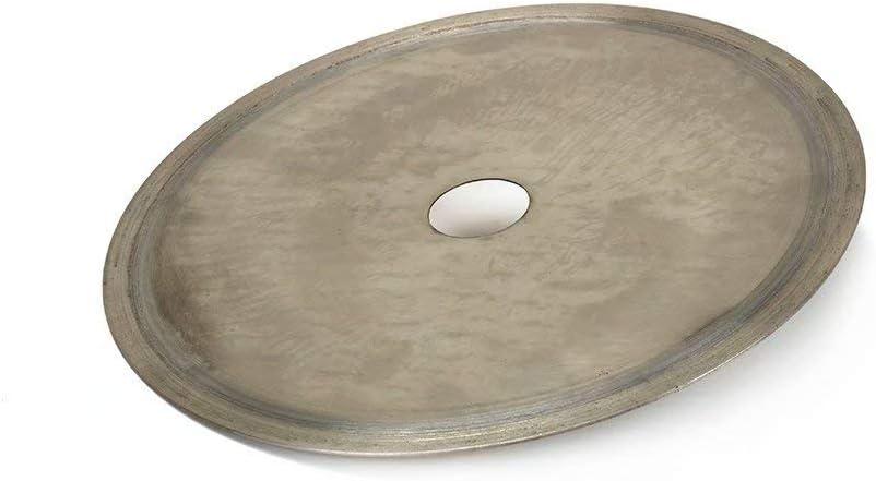 Disco de corte continuo de diamante sinterizado superfino para corte de jud/íos de vidrio lapidario
