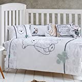 LELVA Cotton Baby Bedding Cute Winnie the Pooh Pattern Bedding Children's Duvet Cover 2pcs