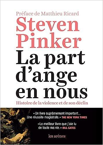 Amazon Fr La Part D Ange En Nous Steven Pinker Livres