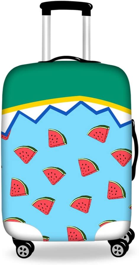 18-21 Inch Luggage Cover Protector Pineapple Print Suitcase Protective Covers with Zipper