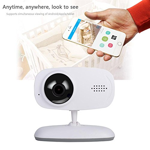 Wireless WiFi Camera 720P Insert Card Camera IR Night Vison Two Way Audio Motion Detection Remote Monitor Home Security Webcam by UEB (Image #2)