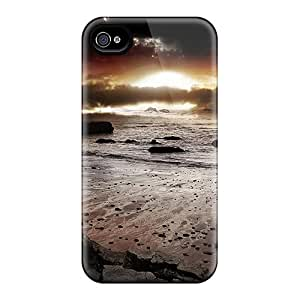 New Premium ChrismaWhilten Beautiful Dark Seascape Skin Cases Covers Excellent Fitted For Iphone 6